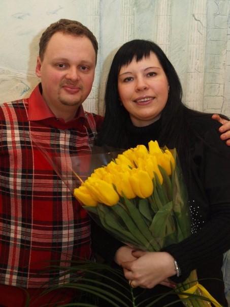 Александр Лишанский и Ольга Ермократьева